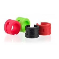 Ochranný kroužek DA BOMB Protector Ring červená
