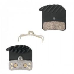 Brzdové destičky Shimano H03C 640/820 SAINT, ZEE, kovové s chladičem