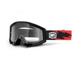 Brýle motokrosové 100% Strata Slash - čirá skla
