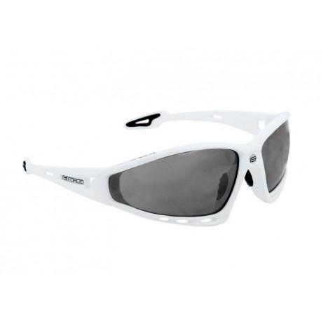 Brýle FORCE PRO bílá, černá laser skla