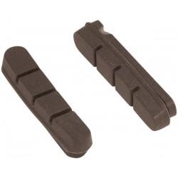Brzdové gumičky FORCE silniční 55 mm korkové pro karbonové ráfky