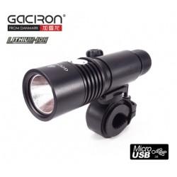 Cyklosvítilna Gaciron V5 USB 800lm dobíjecí