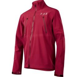 Pánská cyklistická bunda Fox Attack Pro Water Jacket - Dark Red vel. XL