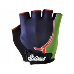 Dětské rukavice SILVINI PUNTA navy/green vel. 9-10