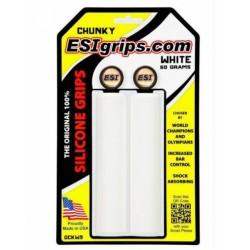 Gripy ESI Chunky - bílá