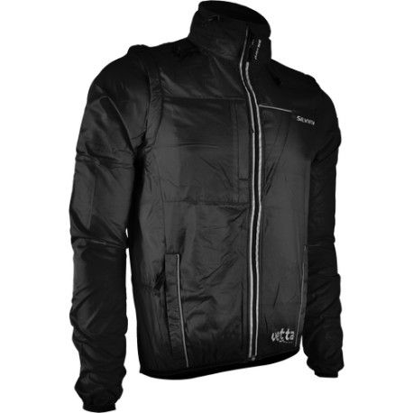 Pánská bunda SILVINI Vetta - černá - vel. L