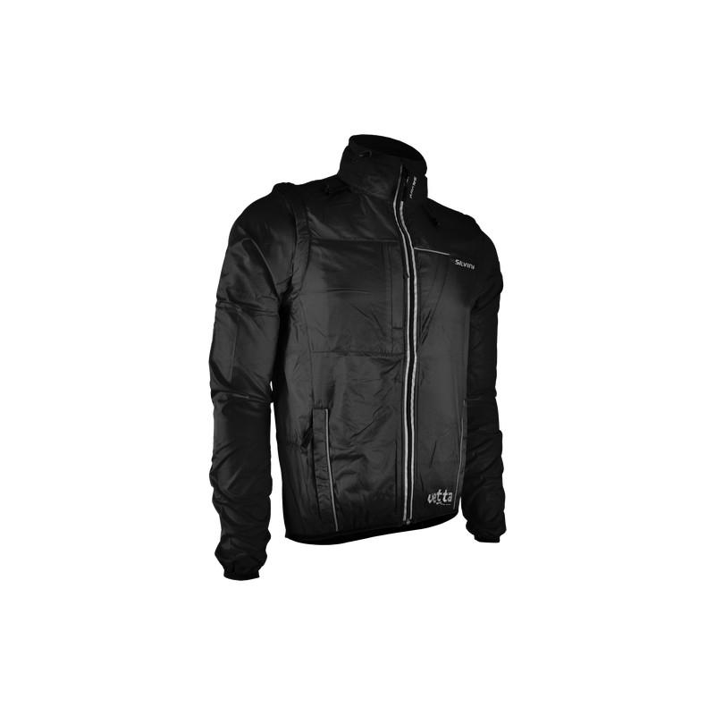 Pánská bunda SILVINI Vetta - černá - vel. L - CYKLOSERVIS BRNO a06f225b87c