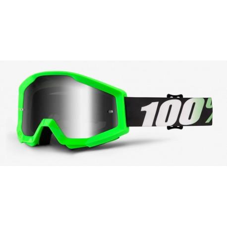 Brýle motokrosové 100% STRATA Arkon - Silver Mirror Lens