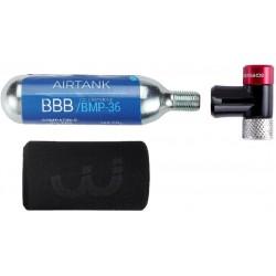 Hustilka BBB AirSpeed CO2+bombička