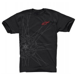 Triko Alpinestars SPOKES Tech Tee Ride blk vel. L