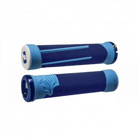 Gripy ODI AG-2 Signature V2.1 bonus pack - modrá/sv.modrá