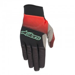 Rukavice Alpinestars CASCADE PRO black/red/teal, vel. XL