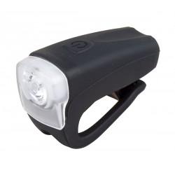 Světlo přední PRO-T Plus 3Watt LED dioda nabíjecí přes USB, silicone černá