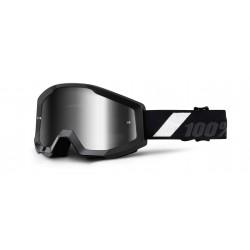 Brýle motokrosové 100% STRATA Goliath - Mirror Silver Lens