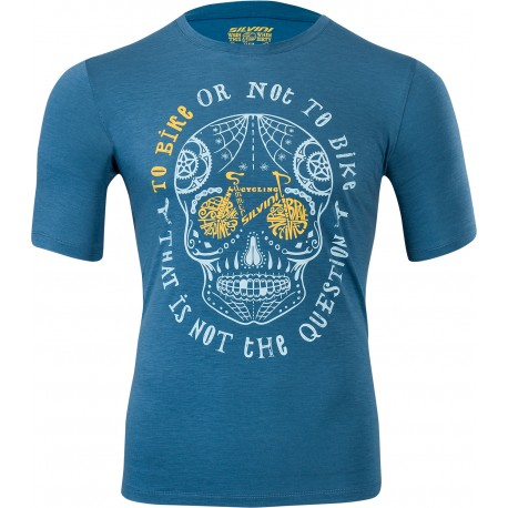 Pánské funkční triko/dres SILVINI Berici blue-lake vel. L