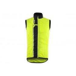 Pánská vesta SILVINI Garcia neon-black vel. L
