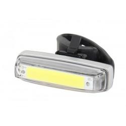 Světlo přední PRO-T Plus blikací 80 Lumen COB diody nabíjecí přes USB kabel