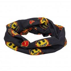 Šátek na krk O'Neal Emoji černá/žlutá
