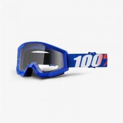 Brýle motokrosové 100% Strata Nation - čirá skla
