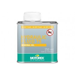 Minerální olej do hydr. brzd MOTOREX Hydraulic Fluid 75 250ml