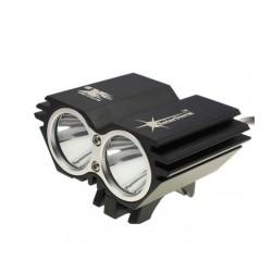 Cyklistická LED svítilna SolarStorm X2 Cree XM-L2 - Neutral White