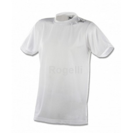 Funkční triko Rogelli PROMO kr. ruk. pánské bílé XXL